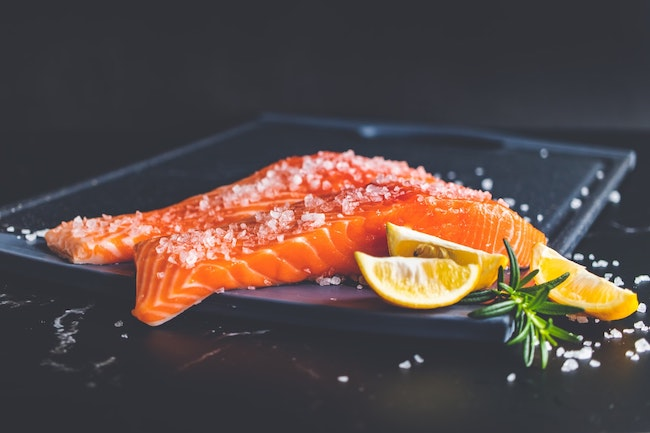 assiette saumon oméga 3